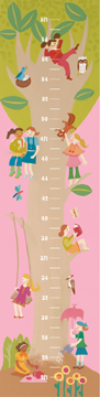 08165 Tree House Growth Chart 10 x 40