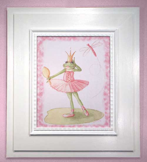 AL-21299 Lilly Pad Princess 29 x 33