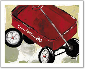 54089 Little Red Wagon (Flyer 80)