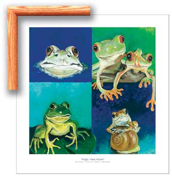 25011 Frogs I Have Known 24 x 25