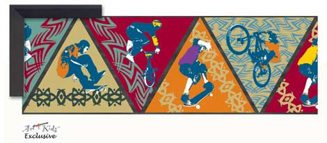 21412 Xtreme Sports Collage 36 x 12
