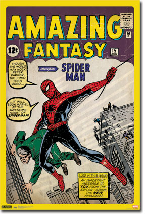 10097 Spiderman   Vintage Cover 24 x 36