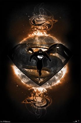 10101 Man of Steel 23 x 34