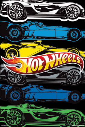 10103 Hot Wheels 24 x 24