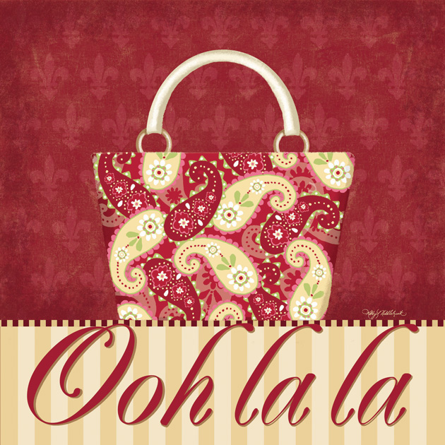 65139 Ooh La La   Purse II 12 x 12