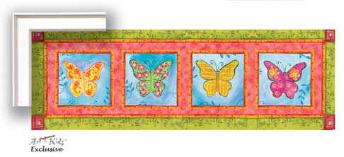 21351 Way Cool Butterfly Series 36 x 12