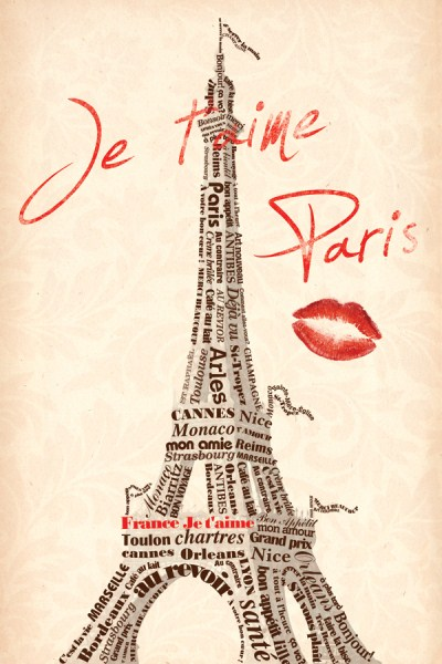 04064 Paris Kiss 14 x 20