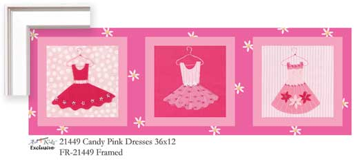 21449 Candy Pink Dresses 36 x 12
