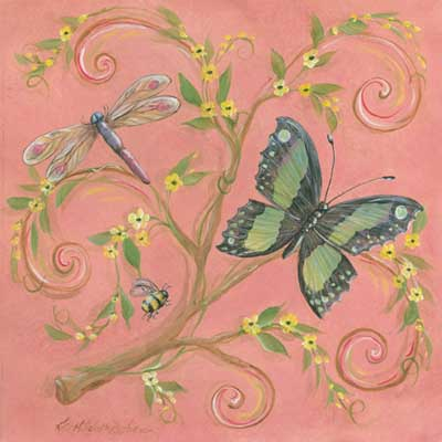 44067 Butterfly Pink 12 x 12