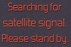 21708 Searching For Satellite Signal 9 x 6