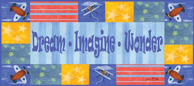 60015 Dream Imagine Wonder (boy) 18 x 10