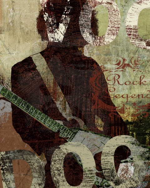 04047 Rock Legend 16 x 20