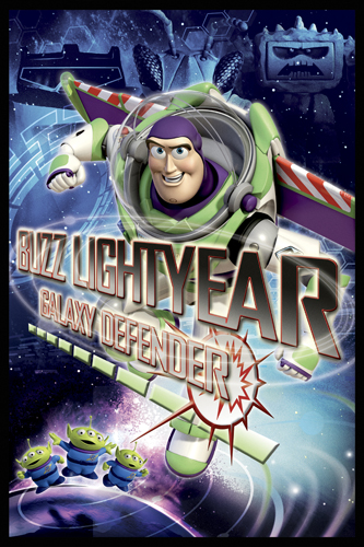 08402 Buzz Lightyear - Galaxy Defender 16 x 24