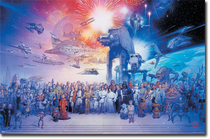 10067 Star Wars - Galaxy 23 x 34