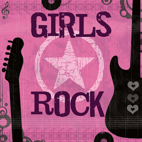 65095 Girls Rock 24 x 24