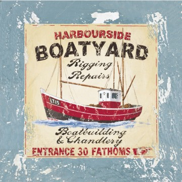 04039 Harbourside Boatyard 12 x 12