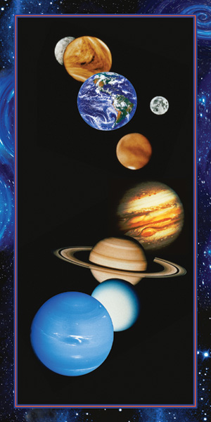 21533 The Solar System 18 x 36