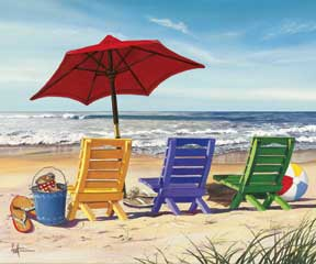 65026 Beachy Keen Chairs 20 x 16