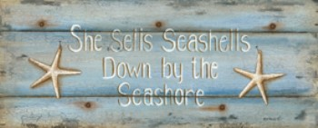 65060 She Sells Sea Shells 20 x 8