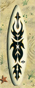 65069 Wild Child Surf Board 8 x 20