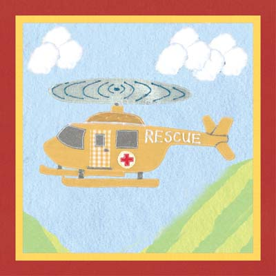 21522 Rescue Helicopter 12 x 12