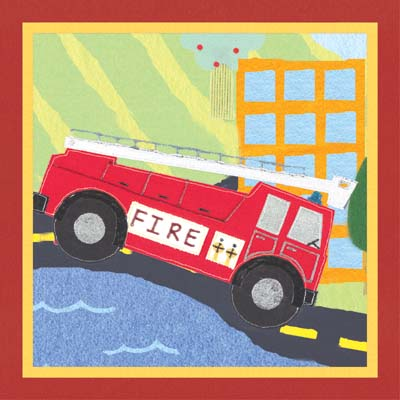 21525 Rescue Fire Engine 12 x 12