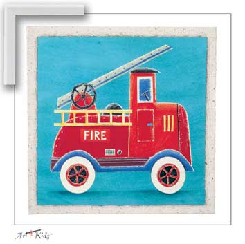 25034 Fire Engine 13 x 13
