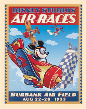 08154 Air Races 16 x 20
